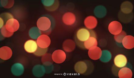 Bokeh-Hintergrund mit mehreren Farben