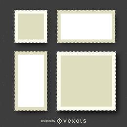 Conjunto de ilustraciones de sellos