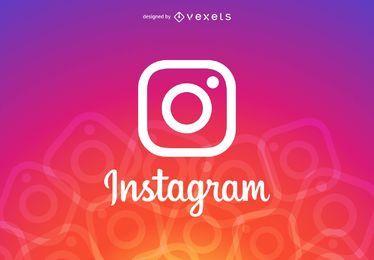 Cabeçalho do logotipo do Instagram