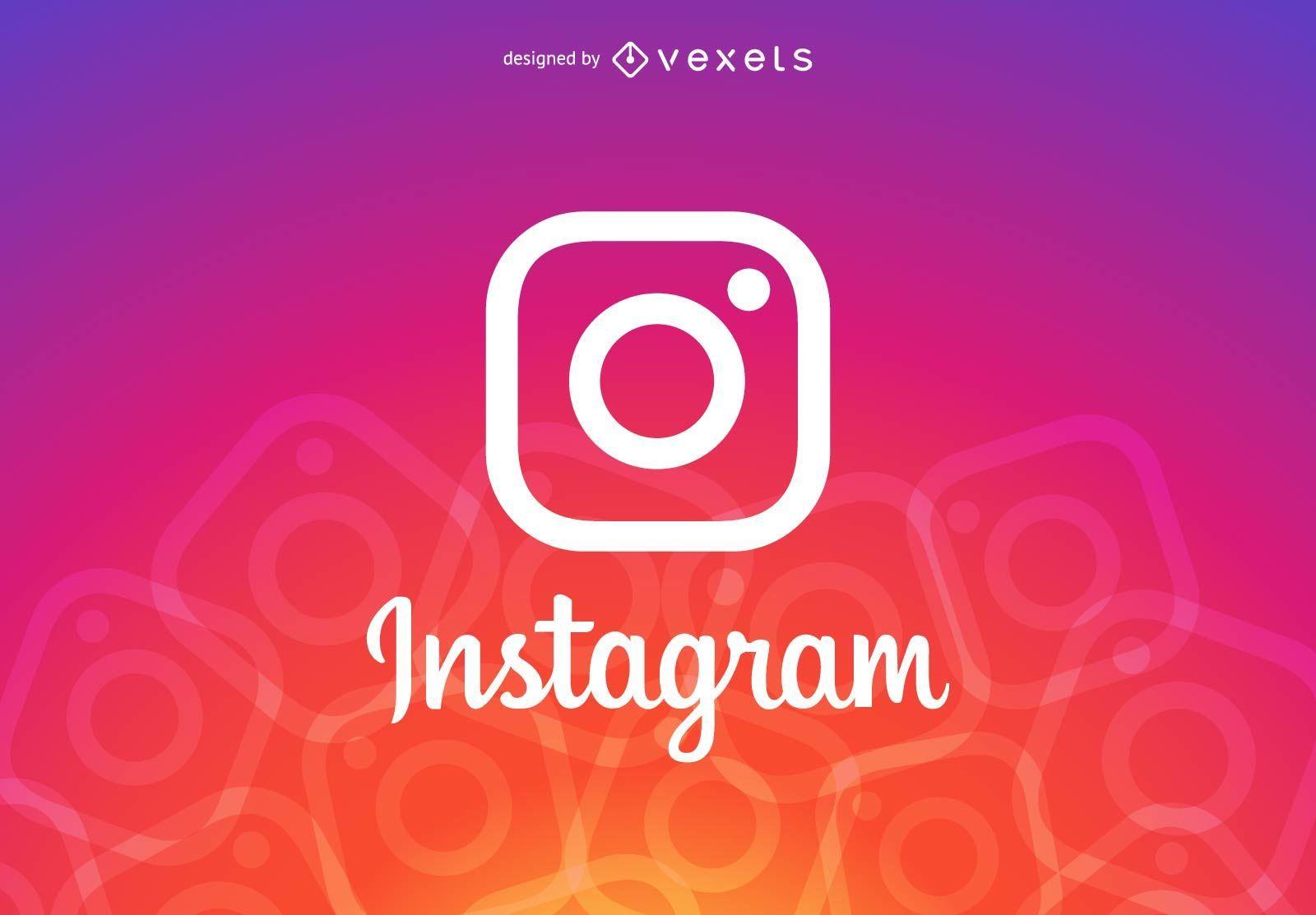 Encabezado del logo de Instagram