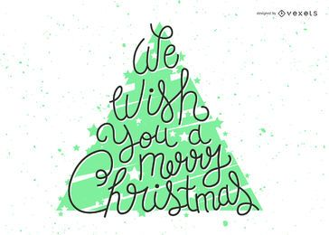 Natal brilhante deseja letras