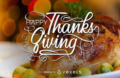 Letras de Ação de Graças e