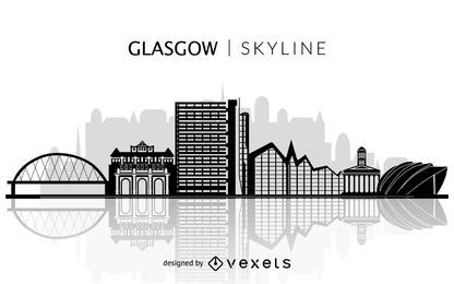 Silueta del horizonte de Glasgow