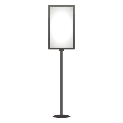 Blank poster sign holder Transparent PNG