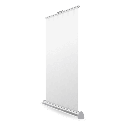 Blank rollup banner Transparent PNG