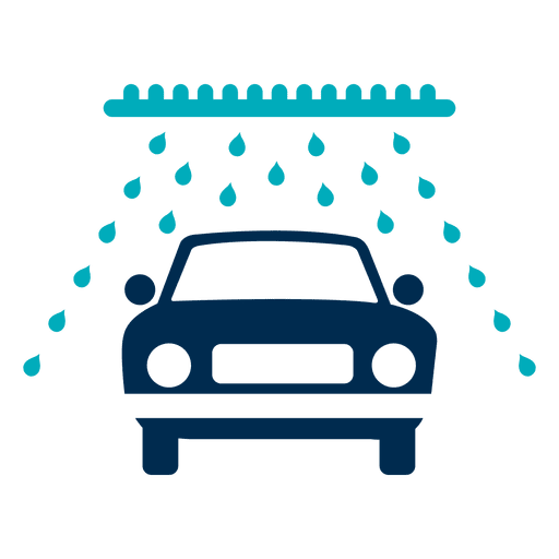 Car in wash tunnel icon Transparent PNG