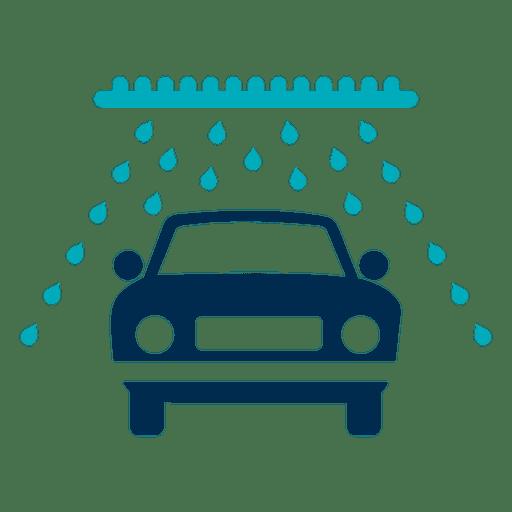 Icono de coche en túnel de lavado Transparent PNG
