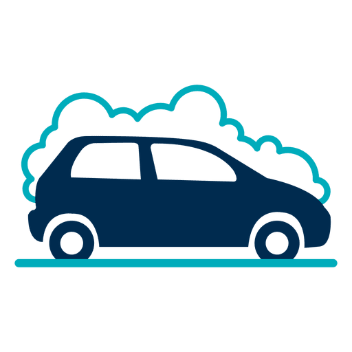 Car with foam icon Transparent PNG