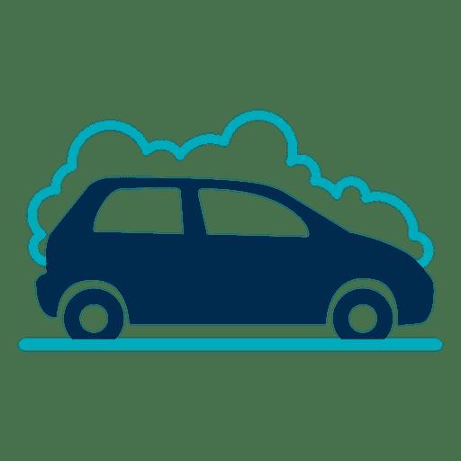 Car with foam icon