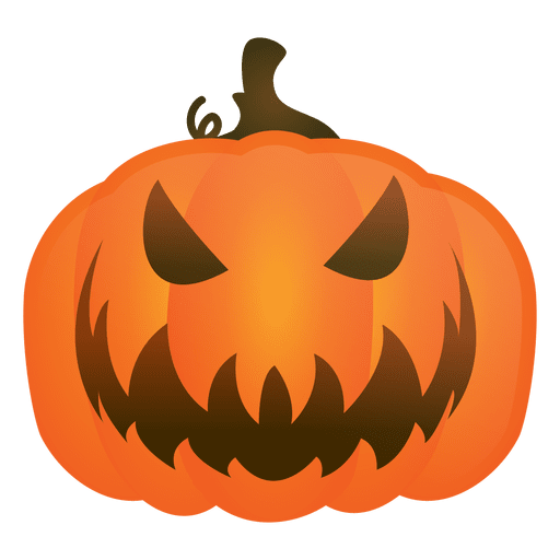 Evil halloween pumpkin Transparent PNG