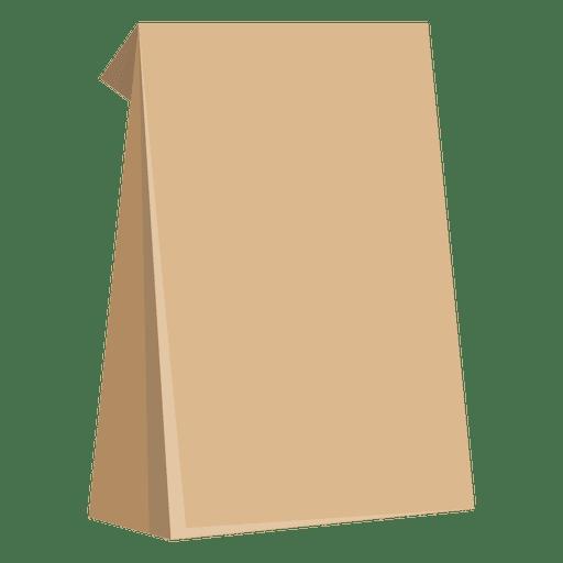 Bolsa de papel de comida Transparent PNG