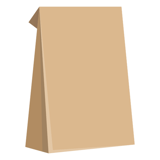 Food paper bag Transparent PNG