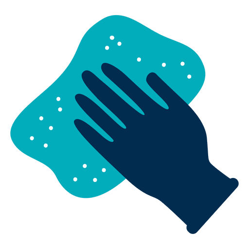 Glove and rag icon Transparent PNG