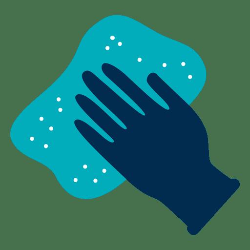 Luva e ícone de pano Transparent PNG