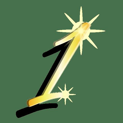 Figura de ouro, um símbolo artístico Transparent PNG