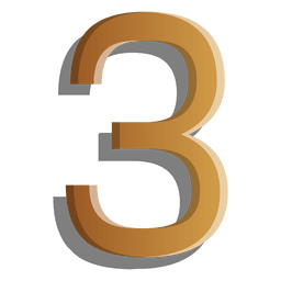 Goldfigur drei Symbol