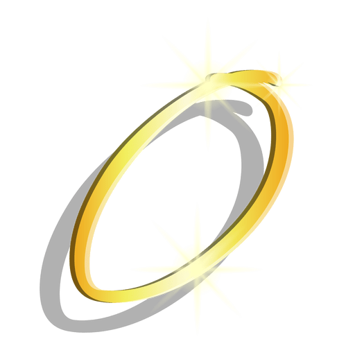 Gold figure zero artistic symbol Transparent PNG