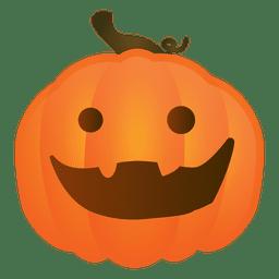 Alegre calabaza de halloween