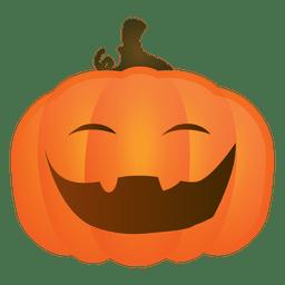 Rindo abóbora de halloween