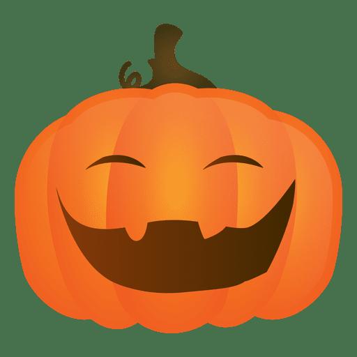 Angry halloween pumpkin - Transparent PNG & SVG vector