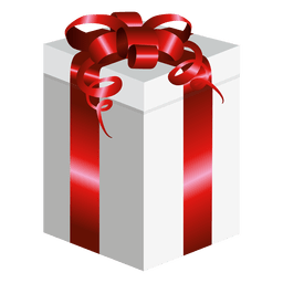 Long wrapped gift box