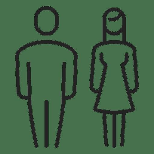 Homem e mulher casal golpe Transparent PNG