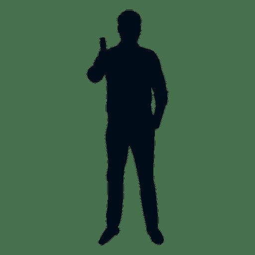 Hombre salud silueta Transparent PNG