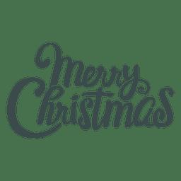 Letra bonita do Feliz Natal