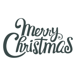 Merry christmas beautiful lettering