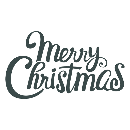 Merry Christmas Lettering Christmas Cards