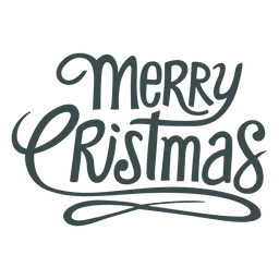 Nice christmas greetings lettering