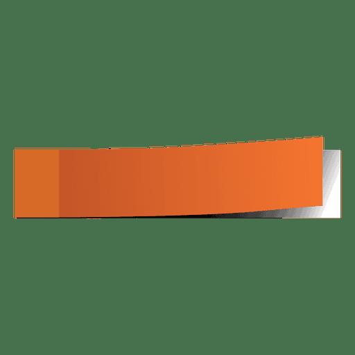 Orange post it page marker