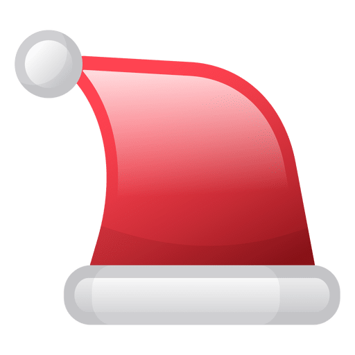 Transparent Christmas Hat.Shiny Christmas Hat Icon Transparent Png Svg Vector