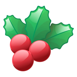 Shiny mistletoe icon