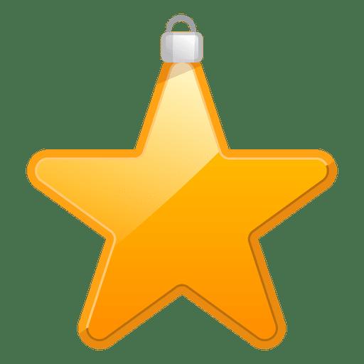 Ícone de ornamento estrela brilhante Transparent PNG