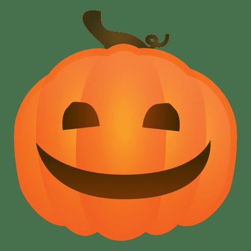 Smiling halloween pumpkin Transparent PNG