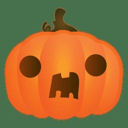 Abóbora de halloween surpresa