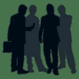 Team Menschen Silhouette