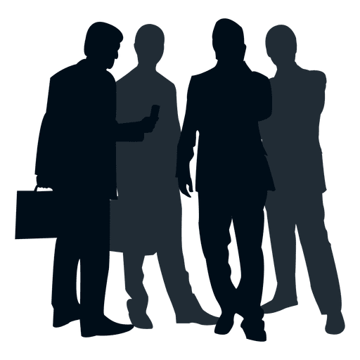 Team people silhouette Transparent PNG & SVG vector file