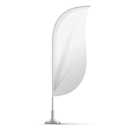 White convex flag