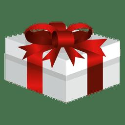 Caja de regalo envuelta ancha