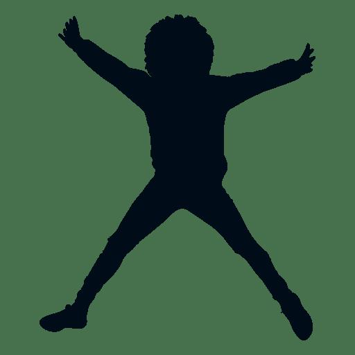 Mujer, extensión, águila, saltar, silueta Transparent PNG
