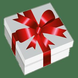 Caja de regalo envuelta