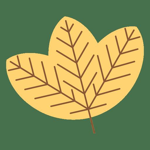 Hoja amarilla de oto o descargar png svg transparente - Descargar autumn leaves ...