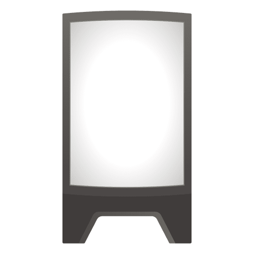 Blank advertising board Transparent PNG