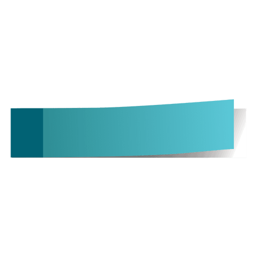 Blue post it page marker Transparent PNG
