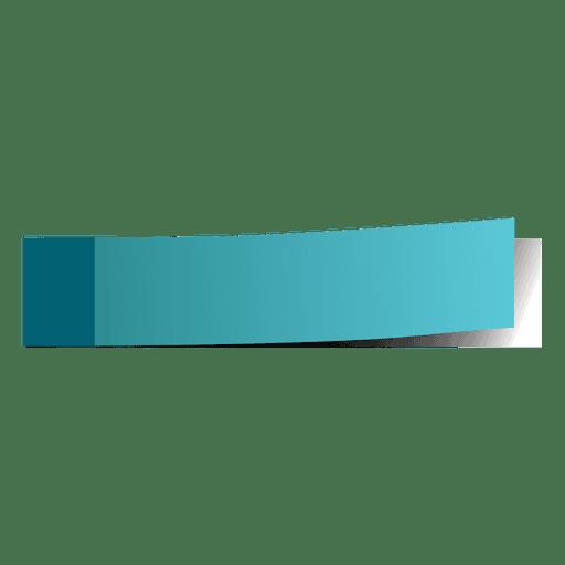 Marcador de página azul post-it
