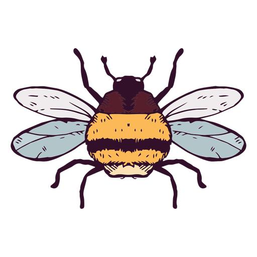 Bumble bee Transparent PNG
