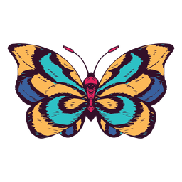 Schmetterlingsillustration