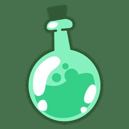 Ilustração de balão de química
